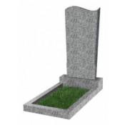 Памятник фигурный эконом Ф-13 Светло-серый (800*400*50 мм)