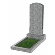 Памятник фигурный эконом Ф-18 Светло-серый (1000*450*50 мм)