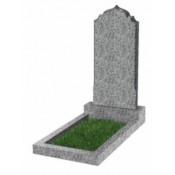 Памятник фигурный эконом Ф-19 Светло-серый (800*400*50 мм)