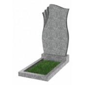 Памятник фигурный эконом Ф-20 Светло-серый (800*450*50 мм)