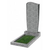 Памятник фигурный эконом Ф-21 Светло-серый (1000*450*50 мм)