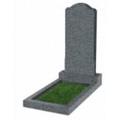 Памятник фигурный эконом Ф-11 Тёмно-серый (800*400*50 мм)