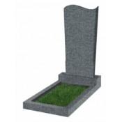 Памятник фигурный эконом Ф-13 Тёмно-серый (1000*450*50 мм)