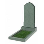 Памятник фигурный эконом Ф-19 Зелёный (1000*450*50 мм)