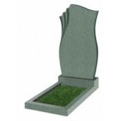 Памятник фигурный Ф-20 Зелёный (1100*600*70 мм)