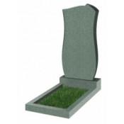 Памятник фигурный Ф-41 Зелёный (1100*550*70 мм)