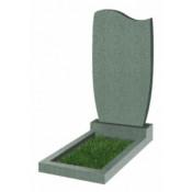 Памятник фигурный эконом Ф-42 Зелёный (800*450*50 мм)
