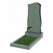 Памятник фигурный эконом Ф-48 Зелёный (1000*450*50 мм)