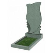 Памятник фигурный Ф-53 Зелёный (1100*550*70 мм)