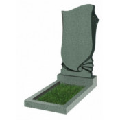Памятник фигурный Ф-57 Зелёный (1100*600*70 мм)