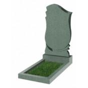 Памятник фигурный эконом Ф-58 Зелёный (800*450*50 мм)