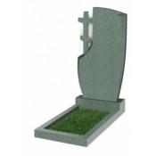 Памятник фигурный Ф-75 Зелёный (1100*600*70 мм)