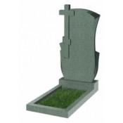 Памятник фигурный Ф-76 Зелёный (1100*600*70 мм)