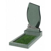 Памятник фигурный Ф-92 Зелёный (1100*600*70 мм)