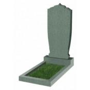 Памятник фигурный Ф-49 Зелёный (1100*500*70 мм)