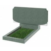 Памятник семейный С-102 Зелёный (400*900*70 мм)