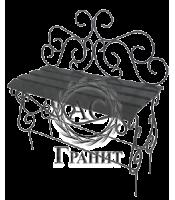 Лавка ритуальная ковка металл 18