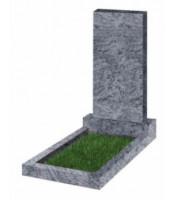 """Памятник прямоугольный К-4 Голубой """"Visage Blue"""" (1000*500*50 мм)"""