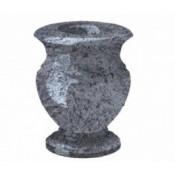 Гранитная ваза (голубая) №20