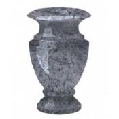 Гранитная ваза (голубая) №25
