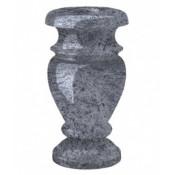 Гранитная ваза (голубая) №30