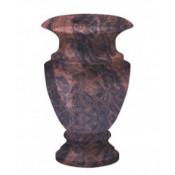 Гранитная ваза (коричневая) №25