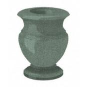 Гранитная ваза (зелёная) №20
