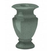 Гранитная ваза (зелёная) №25