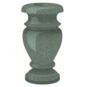 Гранитная ваза (зелёная) №30