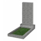 Памятник прямоугольный К-11 Светло-серый(1000*500*70 мм)