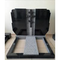 Двойной памятник (Комбинированный гранит)