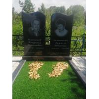 Памятник семейный (Карельский гранит) Размер стелы 1000*1000*70