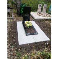 Плита декоративная на могилу (Монолитная)