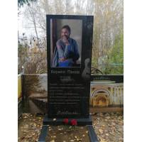 Цветной портрет 3D на памятник