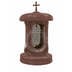 Гранитная лампада (красная)