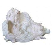 Скульптура из литьевого мрамора 6 - Ангел с зайцем