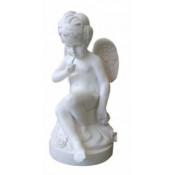 Скульптура из литьевого мрамора 9 - Ангел на тумбе со стрелами
